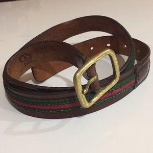 Dooney & Bourke Leather Belt
